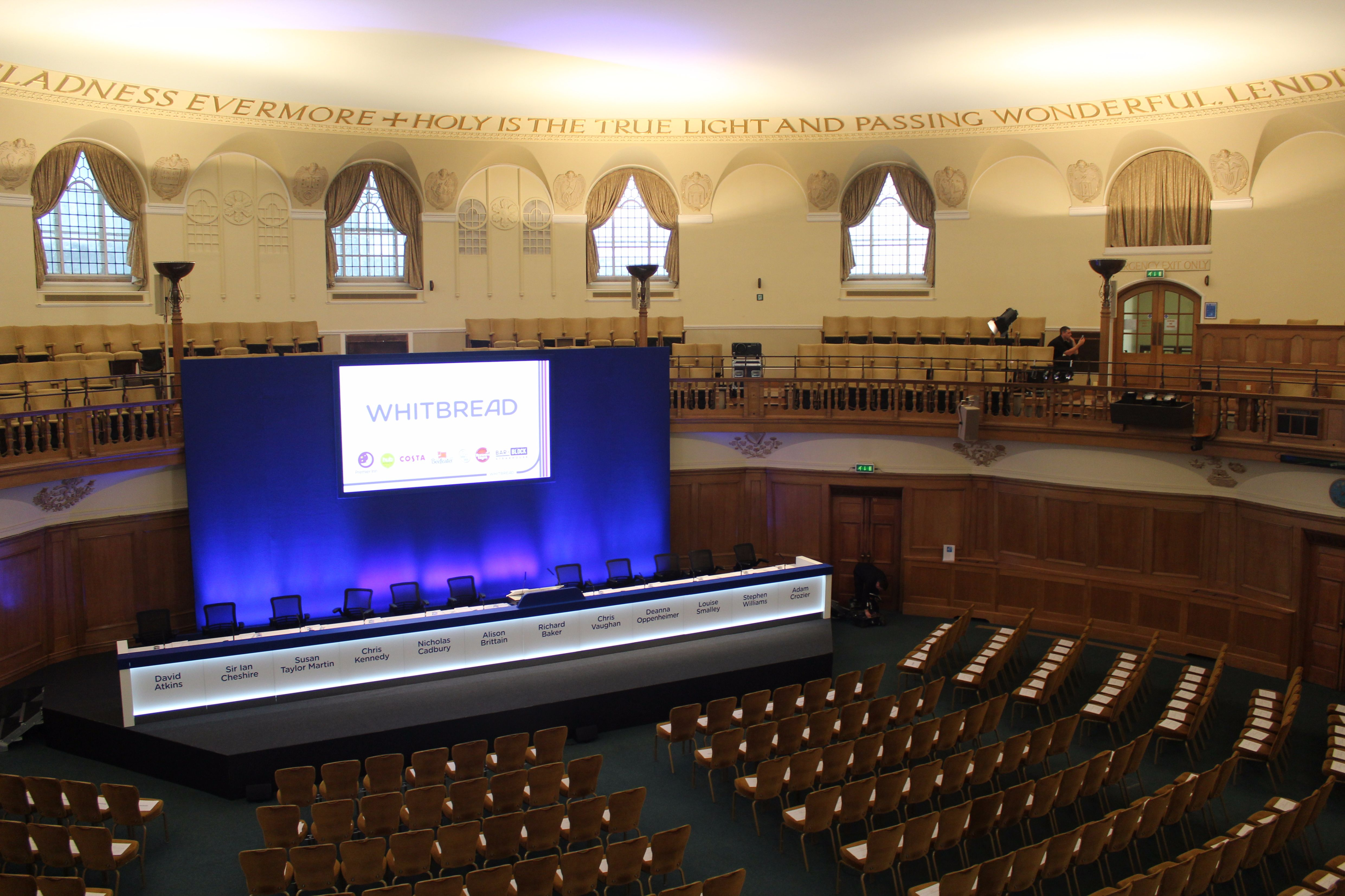 AGM Venue in London - Church House Westminster