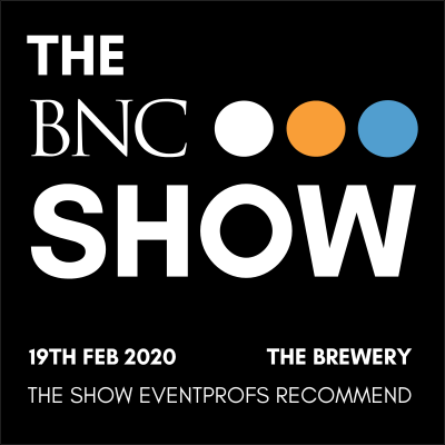 Medium 1579015846 the bnc show 2020 info logo website header 400x400 church house conference centre london